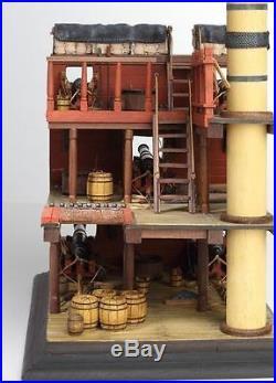 Detailed, New Wooden Model Ship Kit by Disar the Navio Rayo S. XVIII