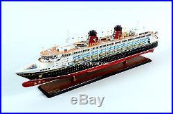 Disney Magic Cruise Ship Handmade Wooden Ship Model Model - Cruise ship model kits