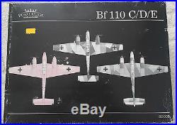Eduard Bf 110 C/D/E Royal Class 1/48 R0005 RARE Vintage FREE SHIPPING Limited ed