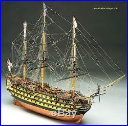 Elegant, finely detailed model ship kit by Mantua Sergal the HMS Victory