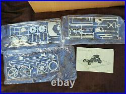 FREE SHIP Vintage 1985 Monogram Golden T Street Rod 1/8 Scale Model Kit Rat