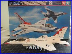 Finished Model Of F-16c Thunderbirds Free Shipping