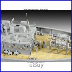 Flower Class Corvette Military Ship Revell 172 Scale Technik Model Kit
