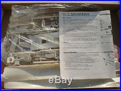 GLENCOE MODELS 08302 N. S. SAVANNAH 1350 Schiff Modellbausatz Ship KIT
