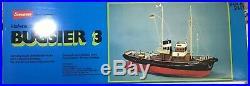 GRAUPNER 2147 133 BUGSIER 3 R/C Model Ship Habor Tug Boat New In Box Germany
