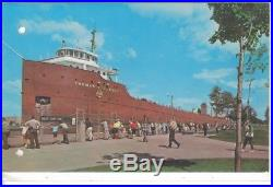 Great Lakes freighter ore boat model, ship similar to Edmund Fitzgerald kit