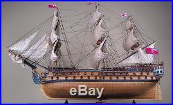 HMS BELLONA 41 wood model ship large scale sailing tall British boat