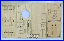 HMS Druid Ship tail POF Scale 1/128 71mm 2.7 Wood Model Ship kit