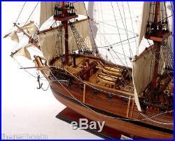 HMS Pandora Tall Ship 36 Handmade Wooden Model Ship NEW