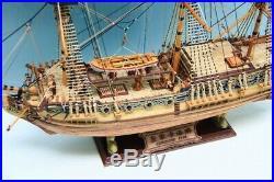 HMS Royal Caroline 1749 Scale 1/50 33'' Wooden Ship Model Kits scale model