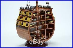 HMS VICTORY Cross Section Handmade Wooden Ship Model 20