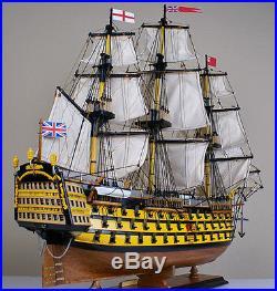 HMS Victory 34 model wood ship British navy wooden tall ship sailing boat