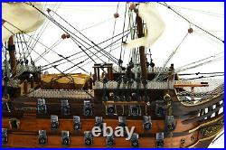 HMS Victory Handcrafted Wooden Ship Model 24