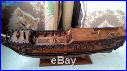 HMY Royal Caroline 1749 Scale 1/50 33 Pear wood Carving pieces Wood Ship kit