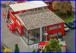 HO Faller MODERN FIRE STATION Model Building KIT #130160 SHIPS from CHICAGO