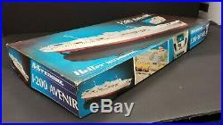 Heller Avenir Ferry Boat Ship 1200 Model Kit Rare
