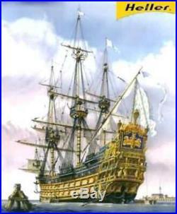 Heller Le Soleil Royal - Plastic Model Sailing Ship Kit - 1/100 3279510808995