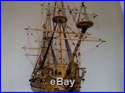 Hobby Scale 1/50 San Felipe 1200 mm 47.2 Wooden Ship Model Kits Free Ship