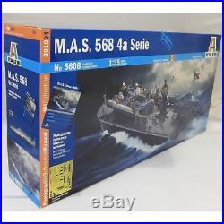 Italeri 135 5608 MAS 568 4th Series Model Ship Kit