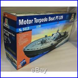 Italeri 135 5613 JOHN F KENNEDY'S MOTOR TORPEDO BOAT PT-109 Model Ship Kit