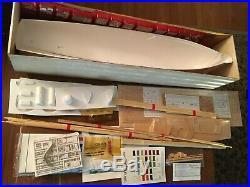 Jacques-Yves Cousteau BILLINGS BOATS 1/45 MODEL KIT 560 CALYPSO WOODEN SHIP RARE