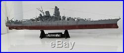 Japanese Battle Ship Yamato 1/350 Scale Built & Painted