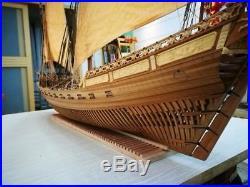 LE REQUIN 1750 Full Rib Version Scale 1/48 47.6 Wood Model Ship Kit Xebec Ship