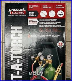 Lincoln Electric Port A Torch Welding Kit (Model KH990) BRAND NEW Fast Ship