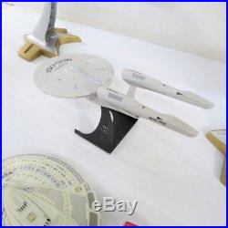 Lot Of Playmates Star Trek Uss Voyager, Uss Enterprise B, D, E & Ncc-1701 Ships