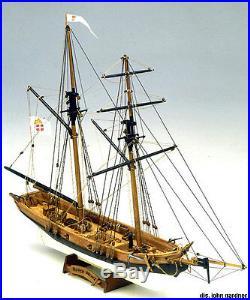 MAMOLI BLACK PRINCE wood ship model kit