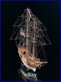 MAMOLI Blue Shadow, Revolutionary War Brigantine wood ship kit 27 model NEW
