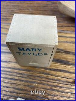 MARY TAYLOR 1850 NY Pilot Boat By Boucher 1937 Wooden Model Ship Kit