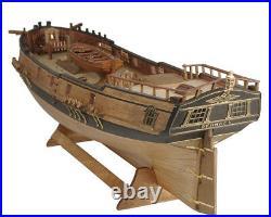 MK0401P Brigantine Phoenix+Lifeboat Wooden Kit wood ship 1/72 Master Korabel