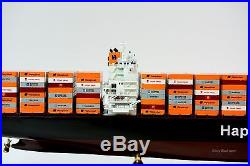 MV Colombo Express Hapag-Lloyd Container Ship Wooden Ship Model 38 Scale 1350