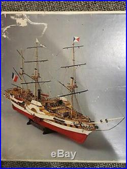 Mamoli L'Orenoque Wooden Model Ship kit French Steam and Paddle Frigate 1100