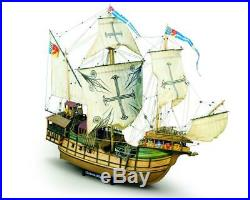 Mamoli MV21 Sao Miguel Caracca Atlantica Model Ship Kit Scale 1/54