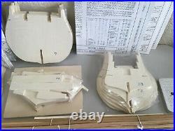 Mamoli MV 40 190 Scale Royal Louis 1780, Unbuilt, Complete, Parts Sealed, RARE