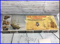 Mamoli USS CONSTITUTION Wood Ship Model Kit 193 Scale MV31 1797 Made In Italy