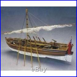 Mantua Models Armed Pinnace Wooden Model Ship Kit 748