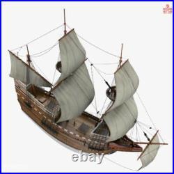 Mayflower 2016 Version Scale 1/48 31 Wood Model Ship Kit Sailboat