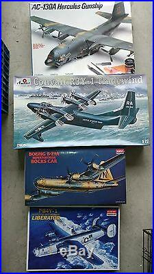 Military Model Aircraft Collection, Ships, Rare Vintage, Convrsns, Books, Tools Etc