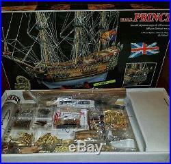 Model Ship Kit By Mamoli H. M. S. Prince 1144