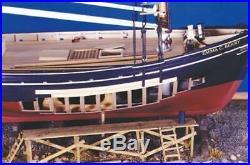Model Shipways EMMA C. BERRY LOBSTER SMACK 132 SCALE Wooden Ship Model