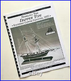 Model Shipways MS2003 DAPPER TOM BALTIMORE CLIPPER SOLID HULL Wooden Ship Kit