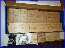 Model Shipways Niagara US Brig War of 1812 Wooden Ship Model Kit 2240 Open Box