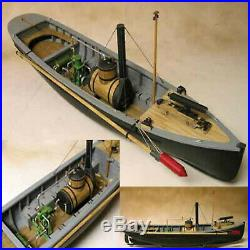Model Shipways USN PICKET BOAT #1 Wooden Model Ship Kit 124 SCALE