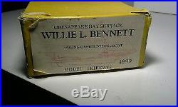 Model Shipways Willie L. Bennett Chesapeake Bay Skipjack Wood Model Ship Kit