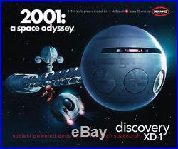 Moebius 2001 A Space Odyssey Movie Discovery XD-1 Ship model kit 1/144 IN STOCK