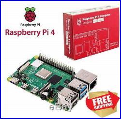 NEW Starter Kit Raspberry Pi 4 Model B 4GB in Original Box FAST SHIPPING