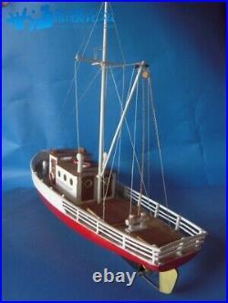 Naxos fishing vessels Scale 1/24 25.8 RC Model Wood Ship Model kit
